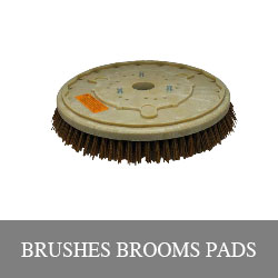 Brushes and Broom pads for street sweepers