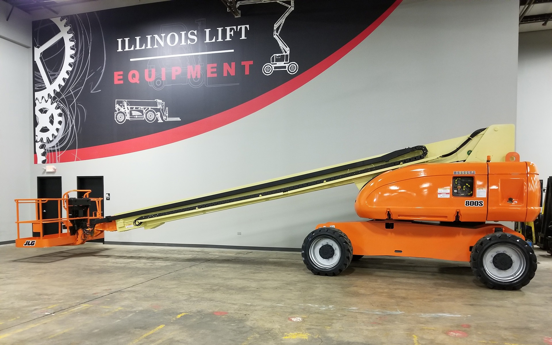 Used 2010 JLG 800S  | Cary, IL