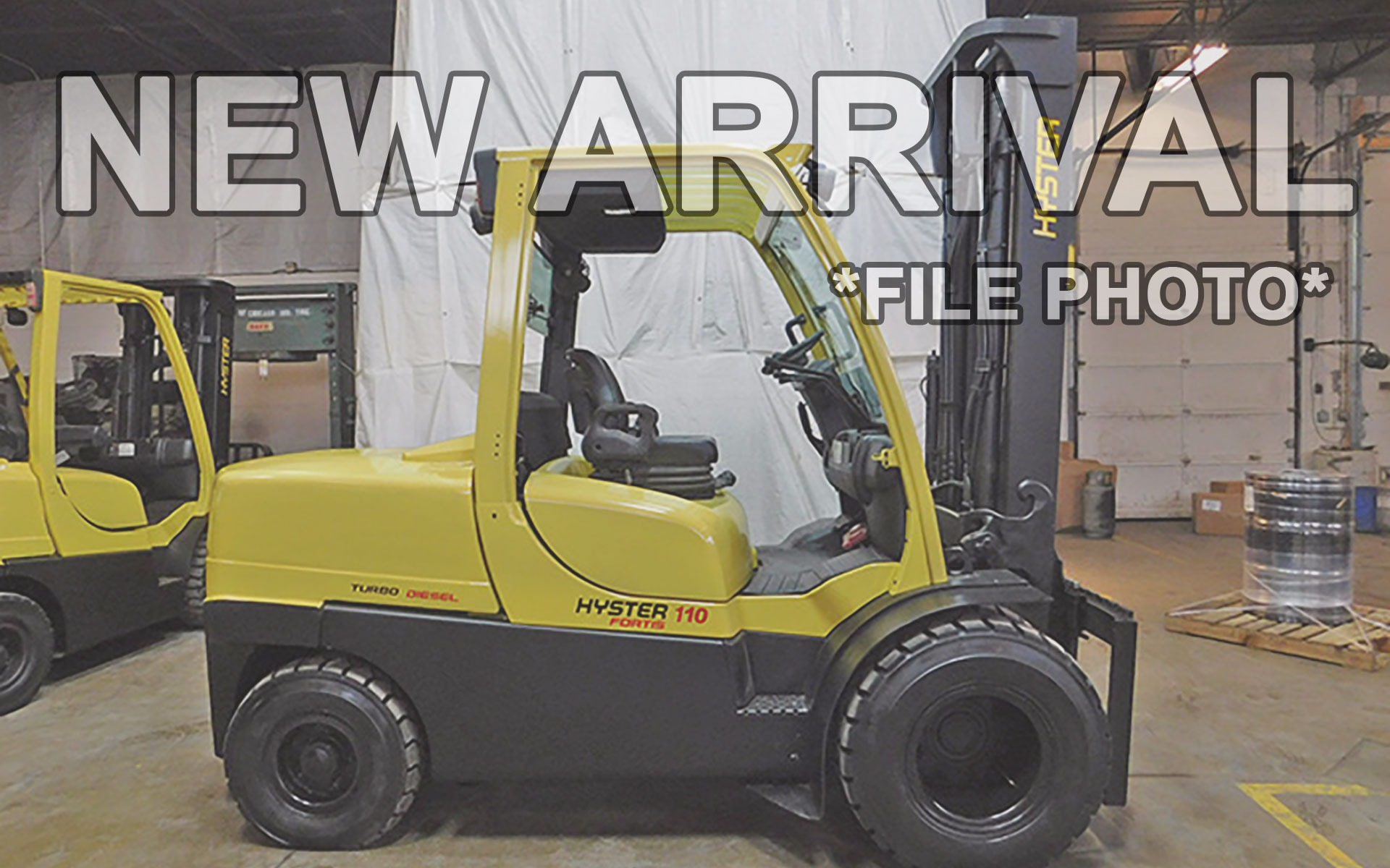 Used 2010 HYSTER H110FT  | Cary, IL