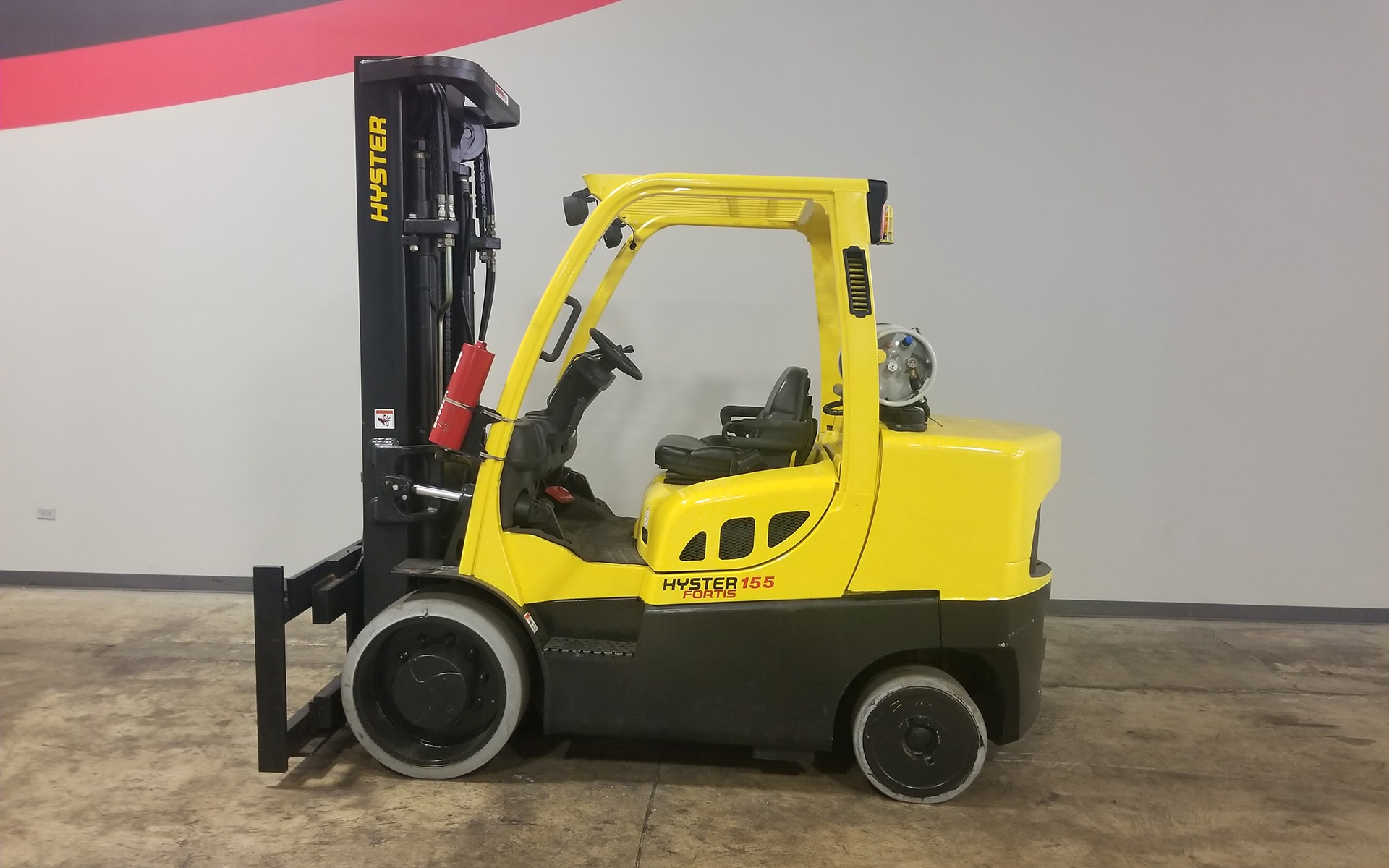 Used 2008 HYSTER S155FT  | Cary, IL