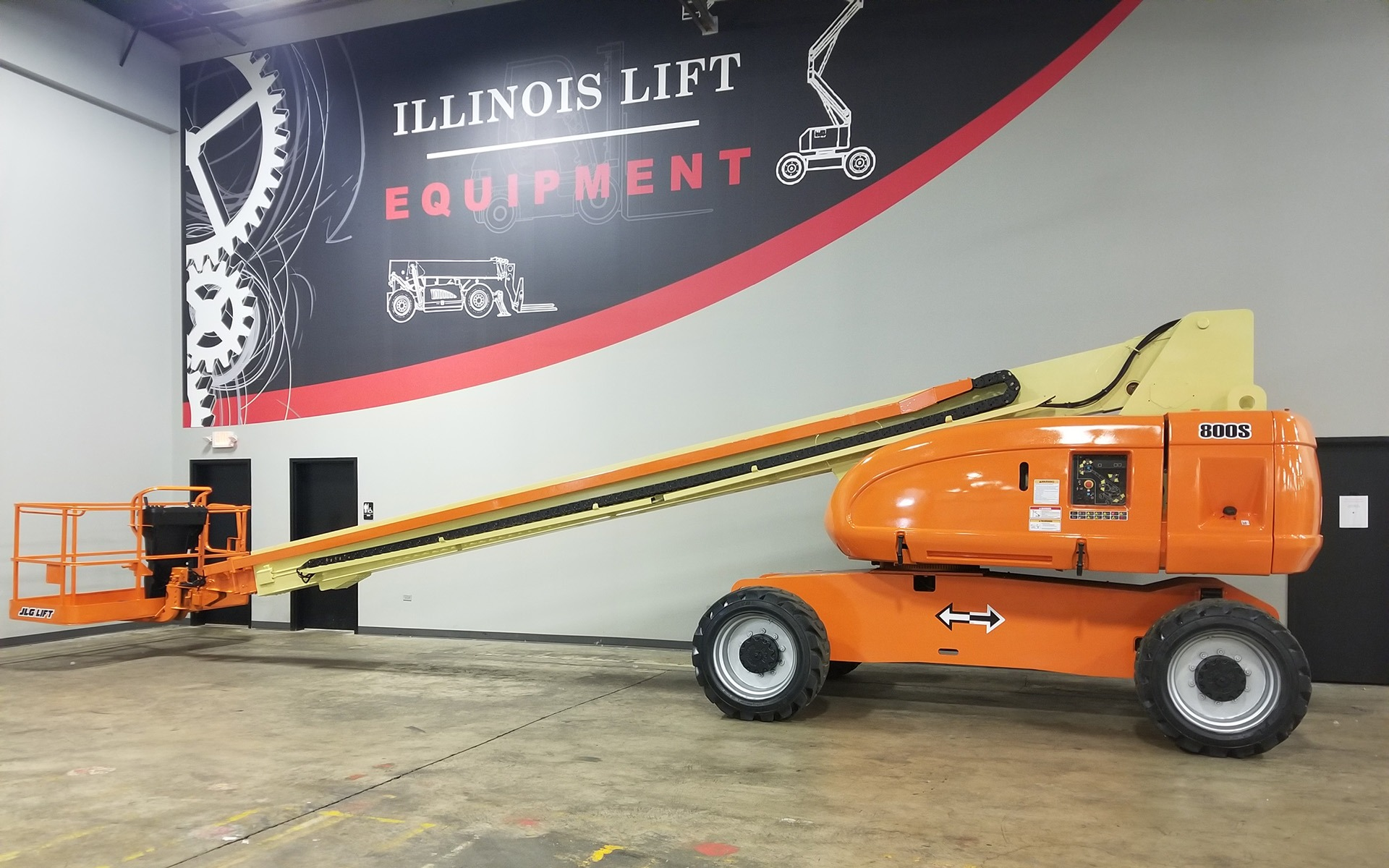 Used 2007 JLG 800S  | Cary, IL