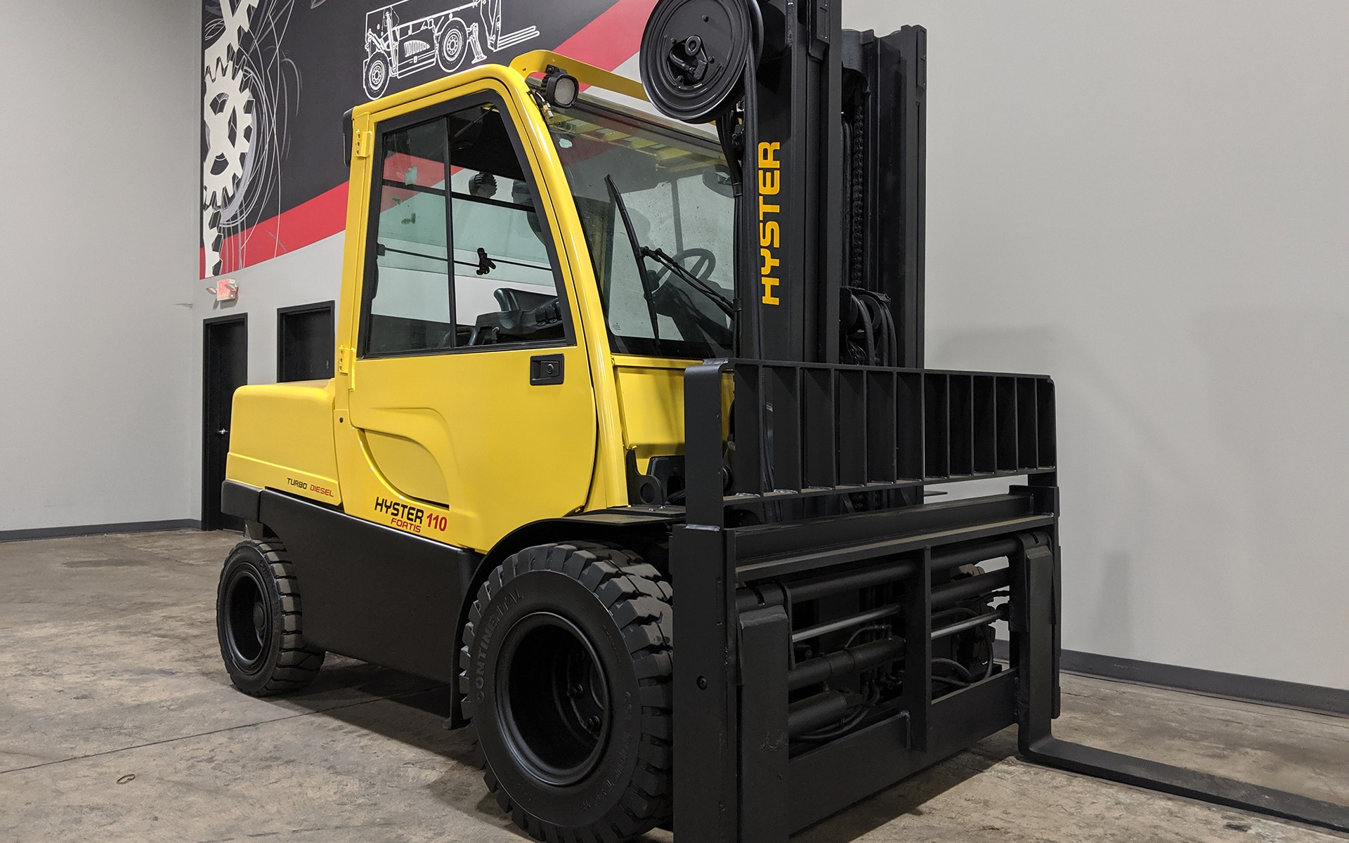 Used 2011 HYSTER H110FT  | Cary, IL