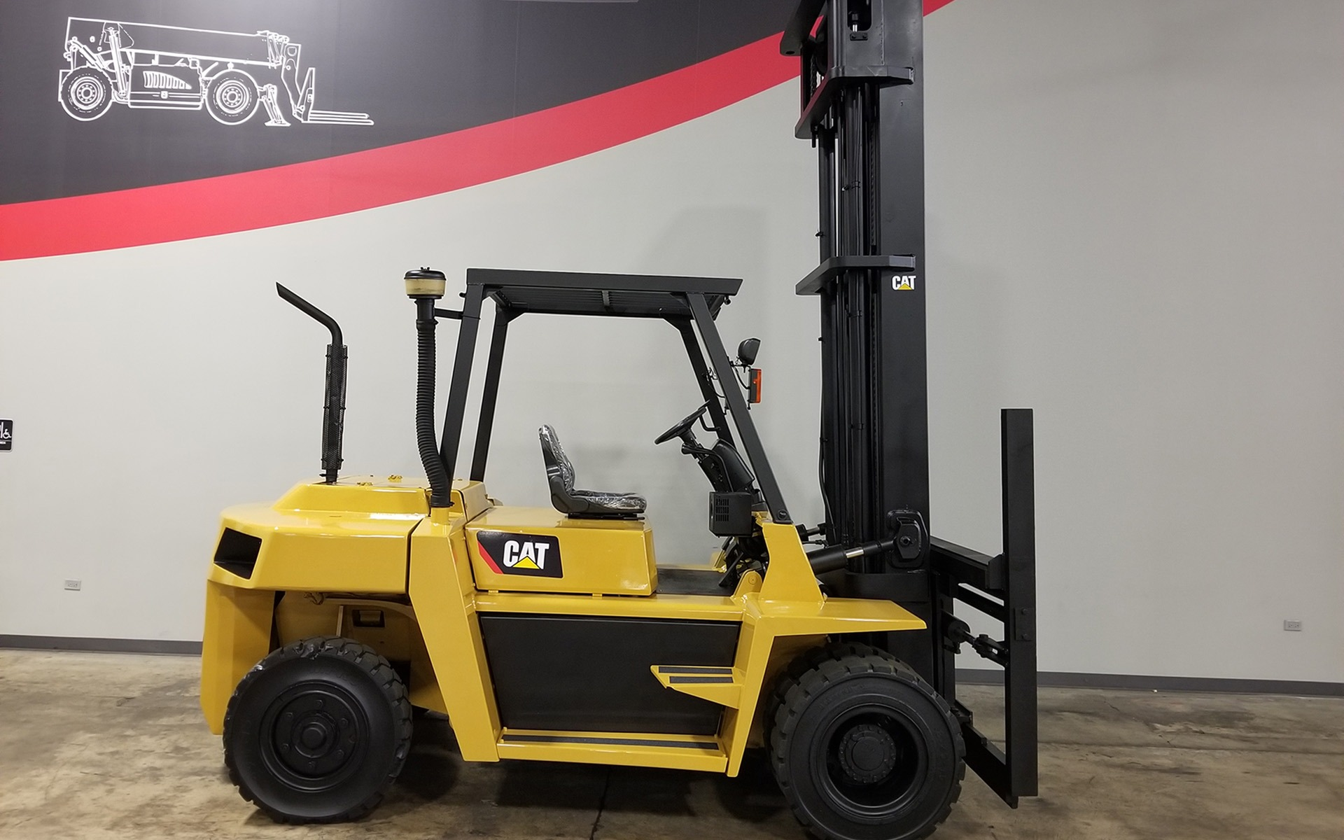 Used 2004 CATERPILLAR DP70  | Cary, IL