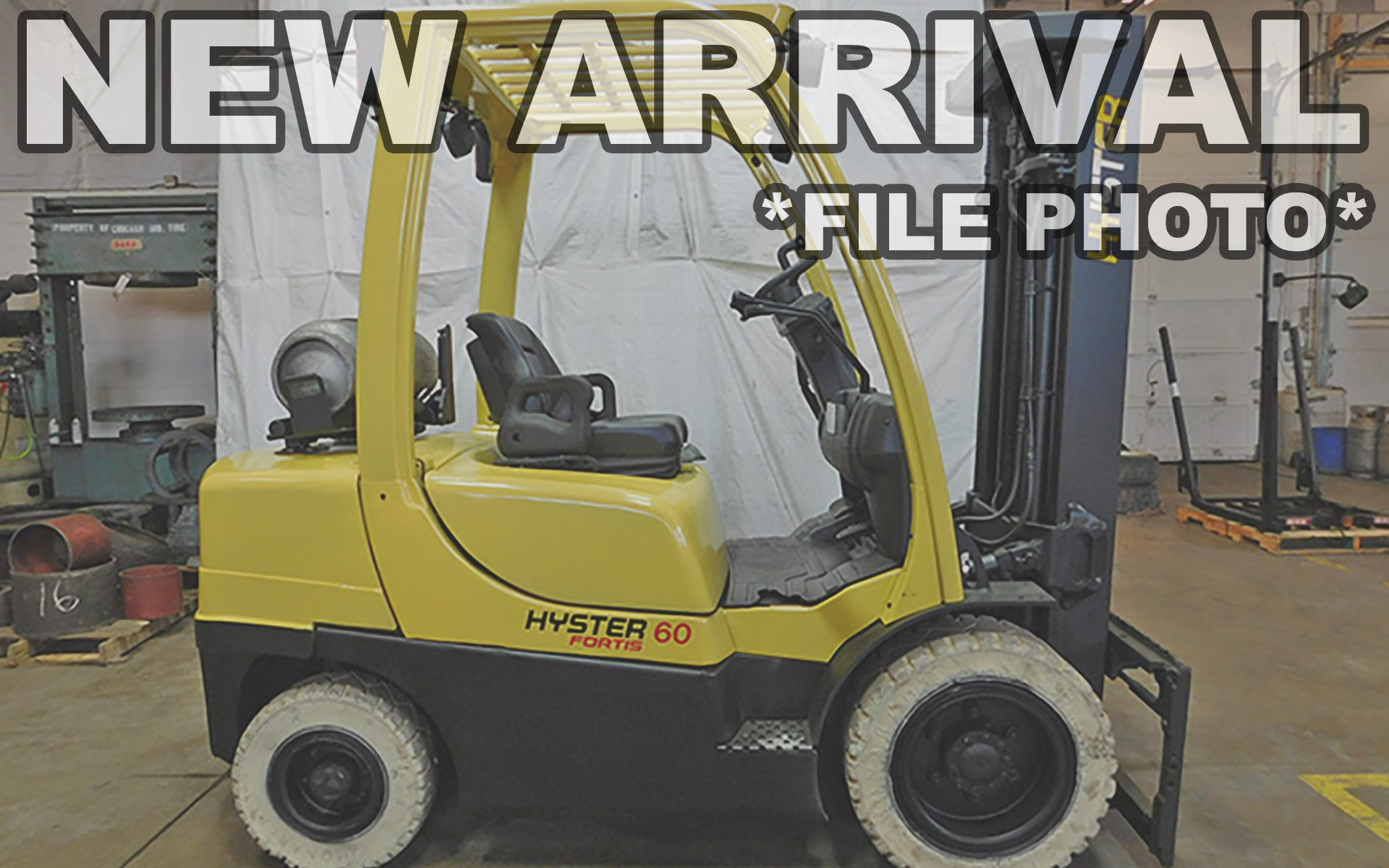 Used 2010 HYSTER H60FT  | Cary, IL