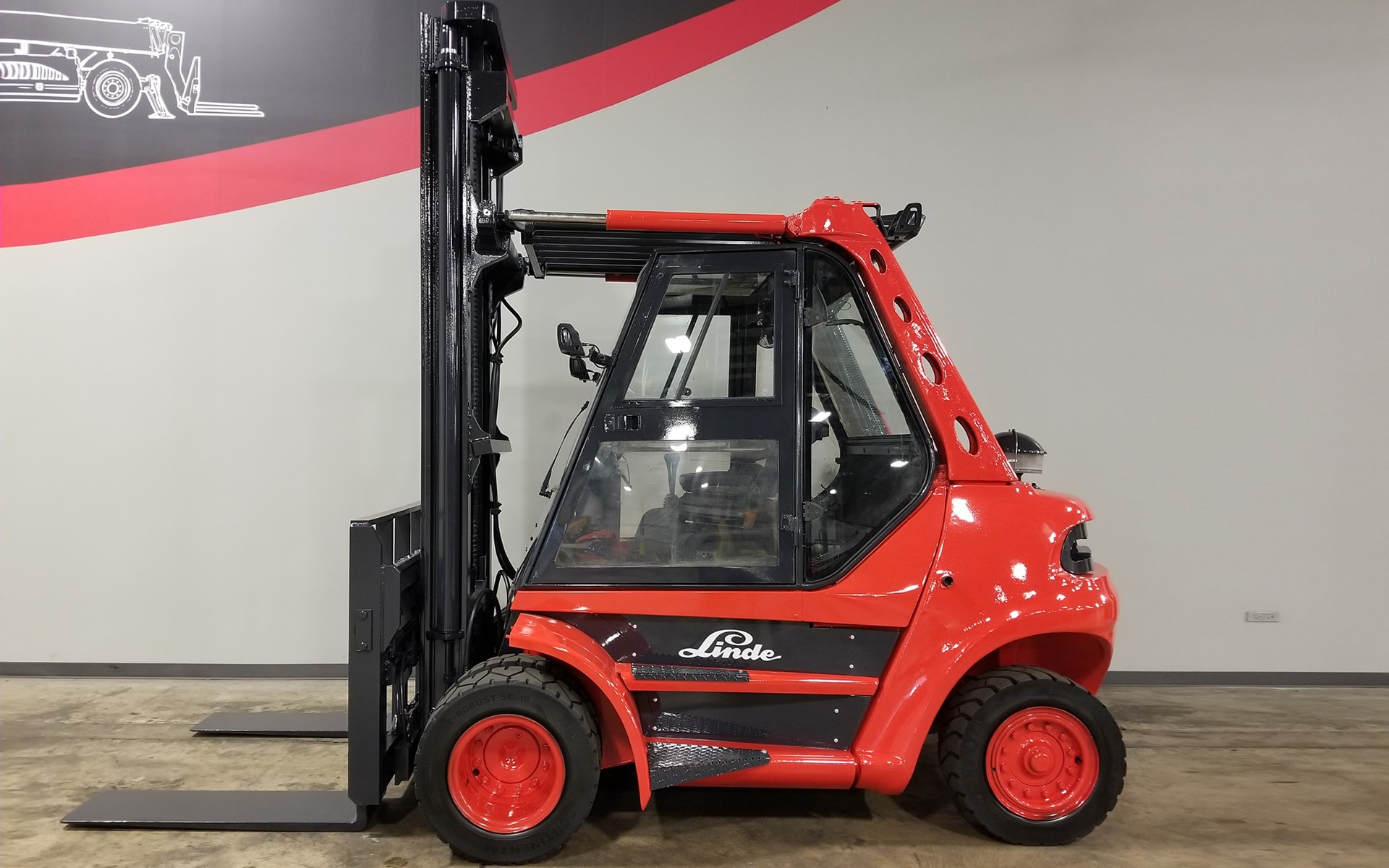 Used 2008 LINDE H80D  | Cary, IL