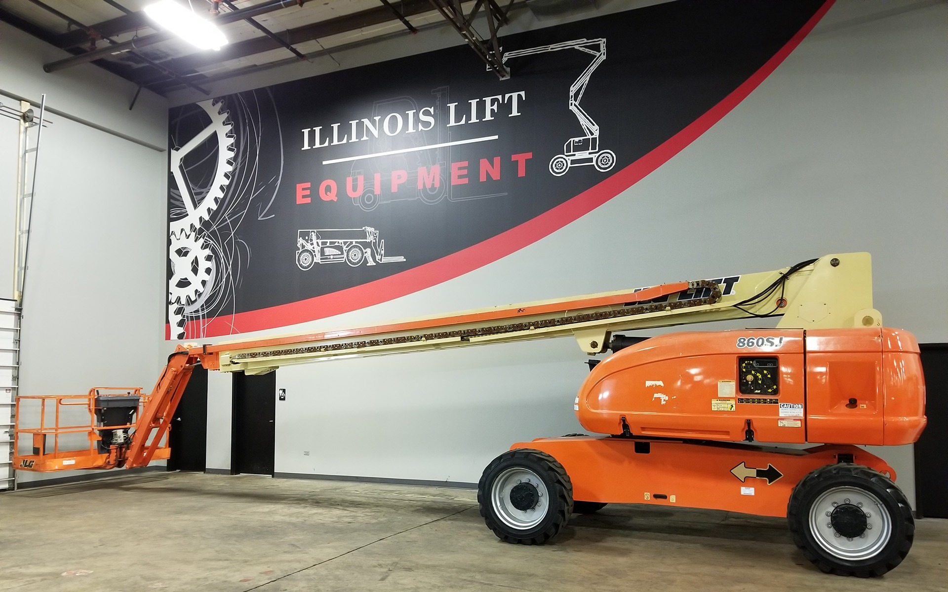 Used 2008 JLG 860SJ  | Cary, IL