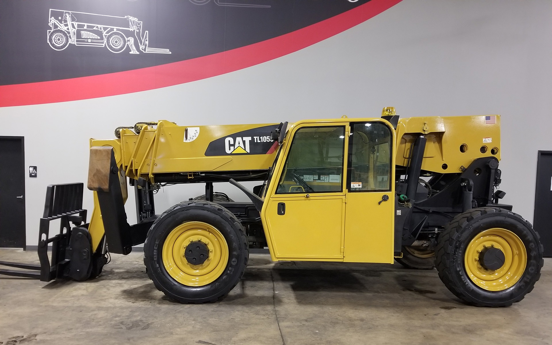 Used 2011 CATERPILLAR TL1055  | Cary, IL