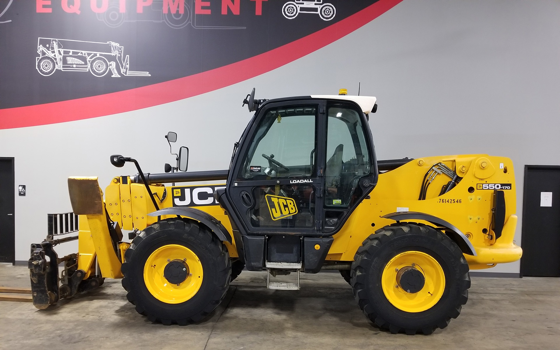 Used 2011 JCB 550-170  | Cary, IL