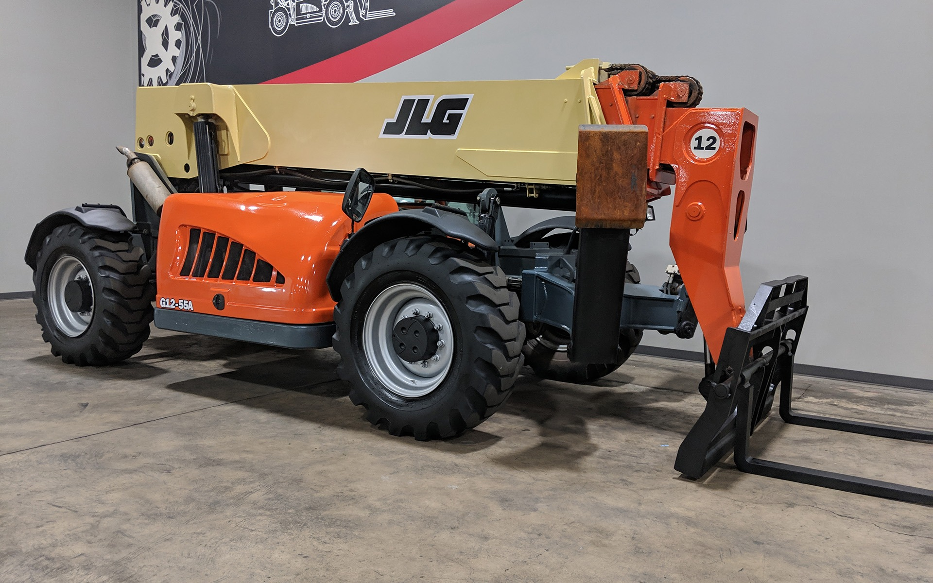 Used 2009 JLG G12-55A  | Cary, IL