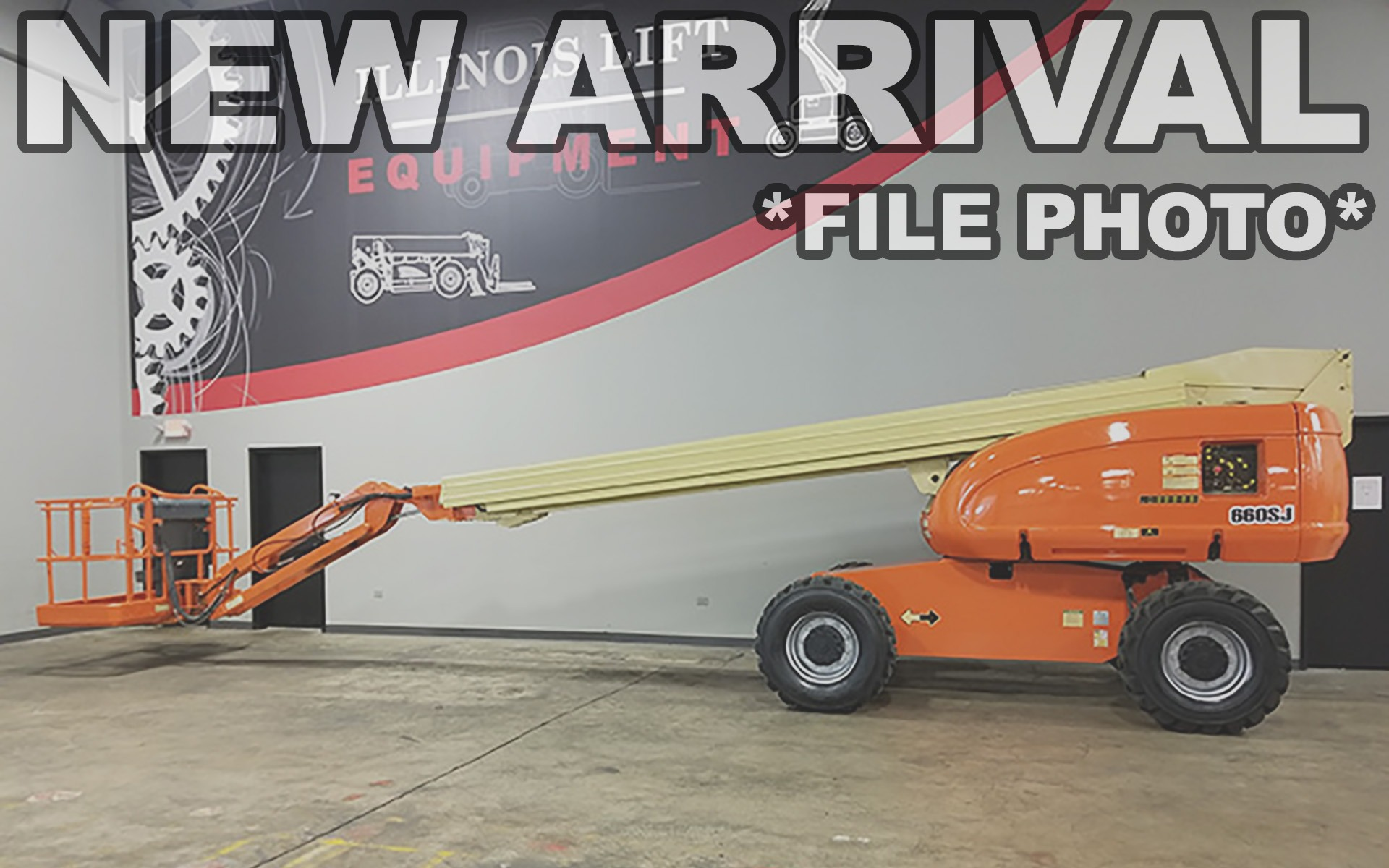 Used 2003 JLG 660SJ  | Cary, IL