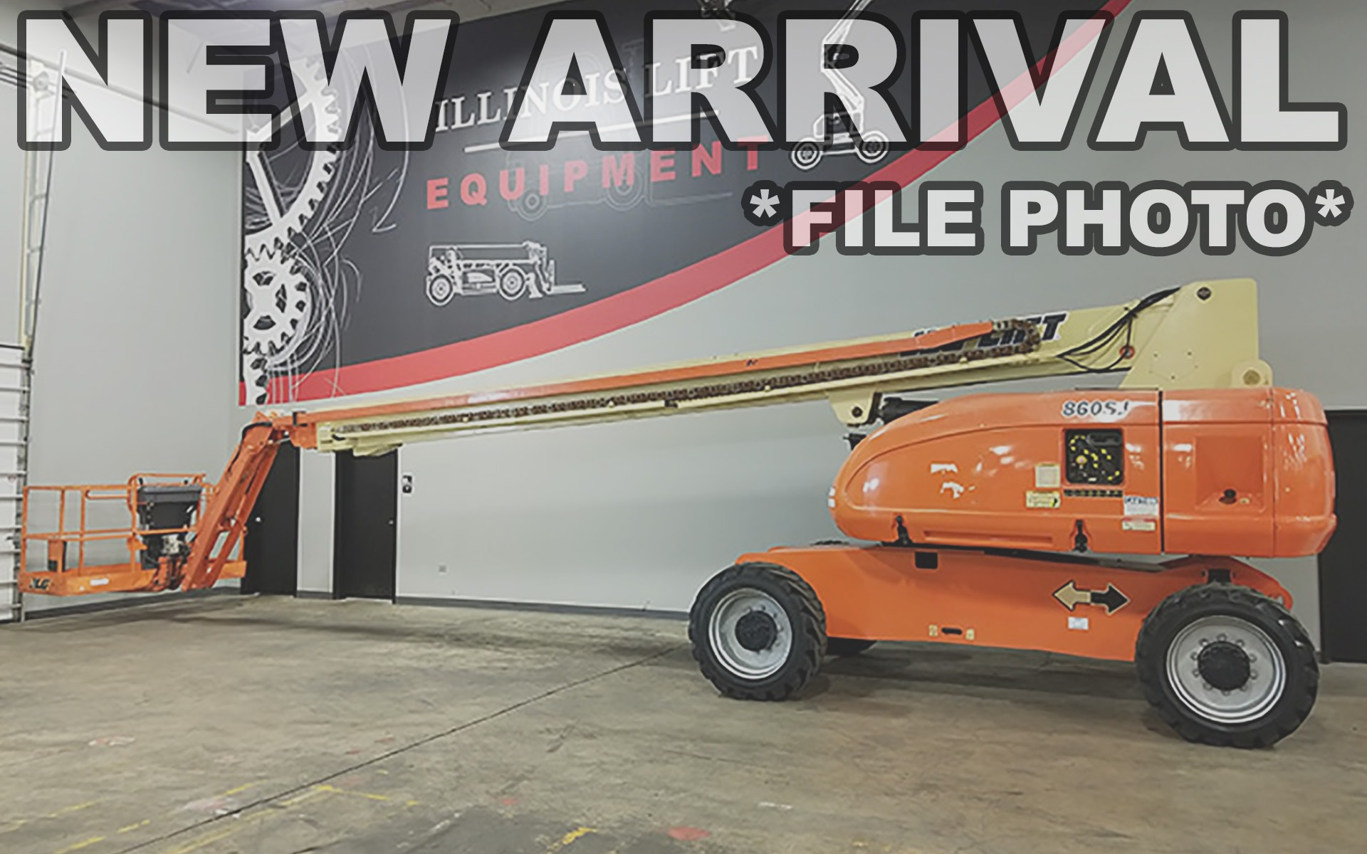 Used 2010 JLG 860SJ  | Cary, IL