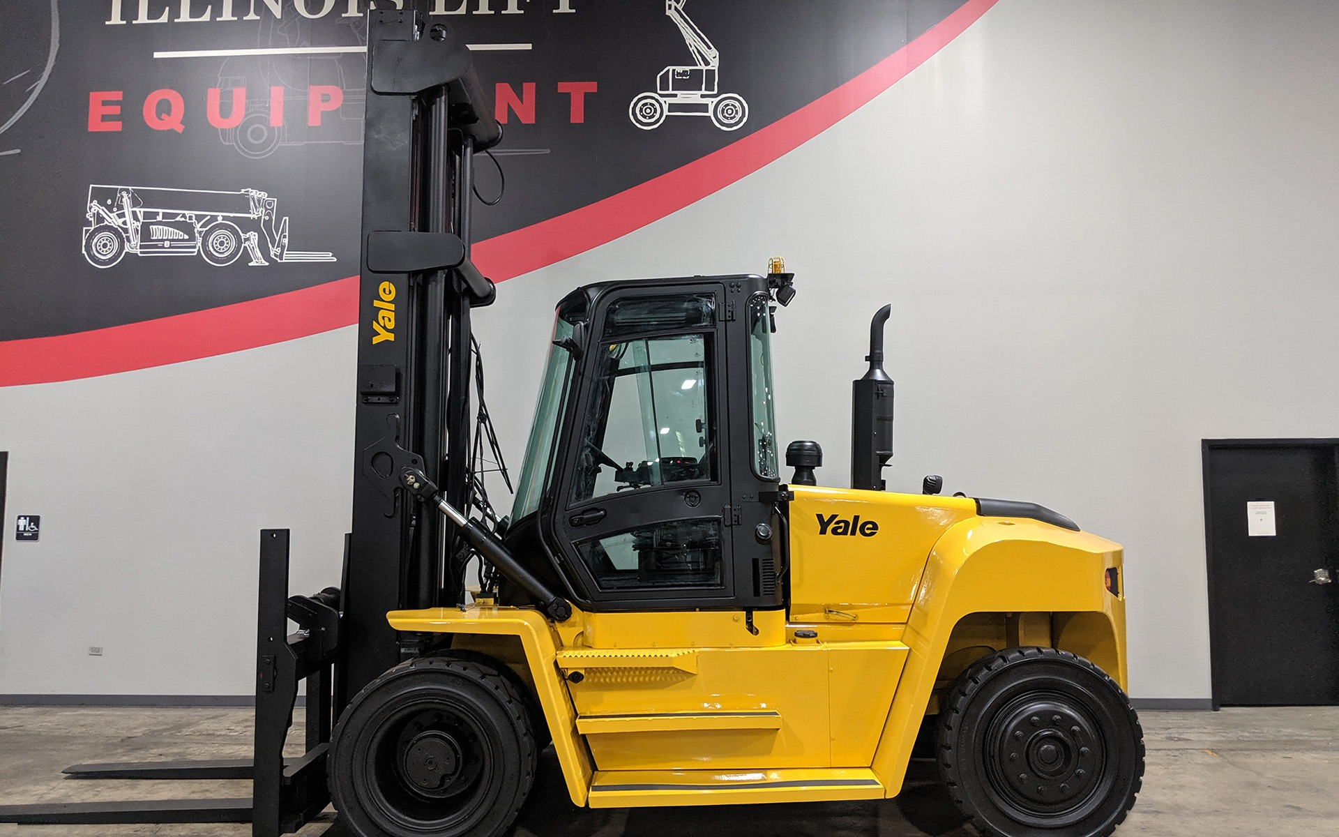 Used 2014 YALE GDP230DCE    Cary, IL
