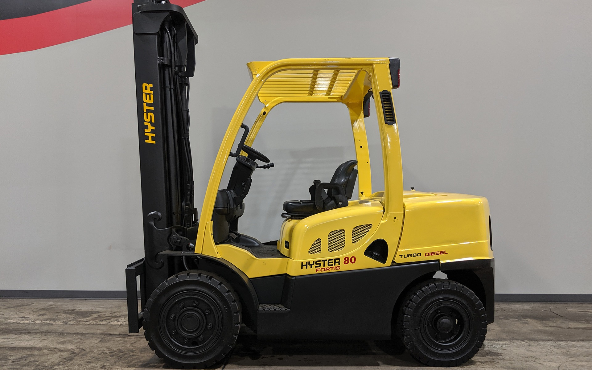 Used 2009 HYSTER H80FT  | Cary, IL