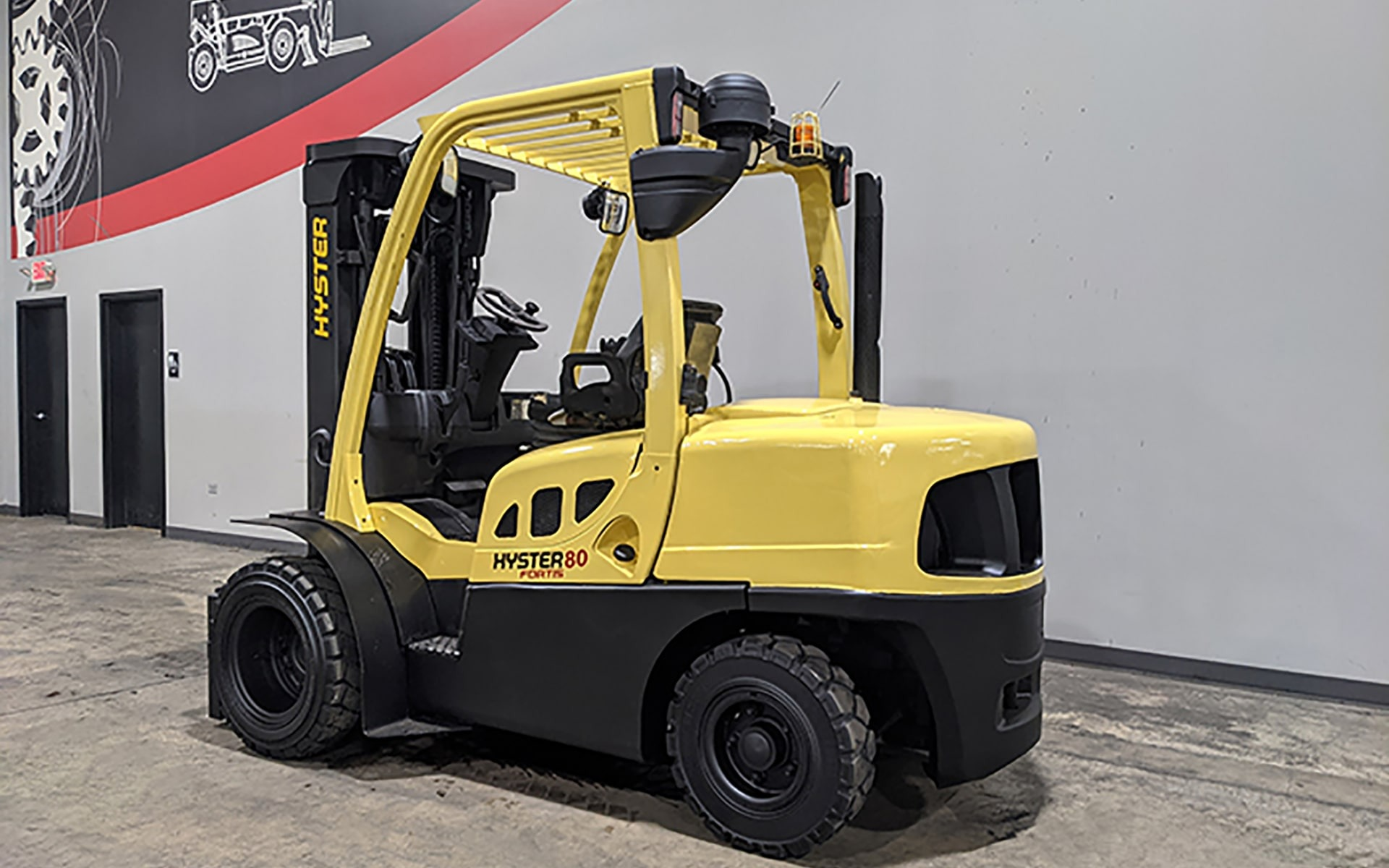Used 2013 HYSTER H80FT  | Cary, IL