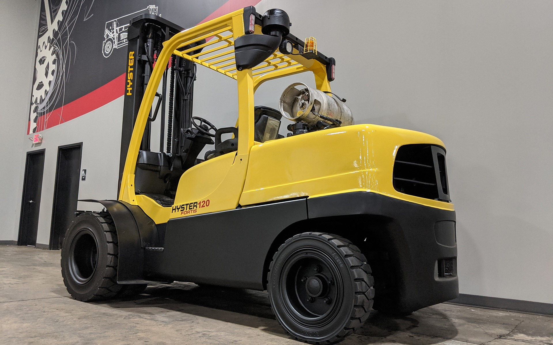 Used 2014 HYSTER H120FT  | Cary, IL