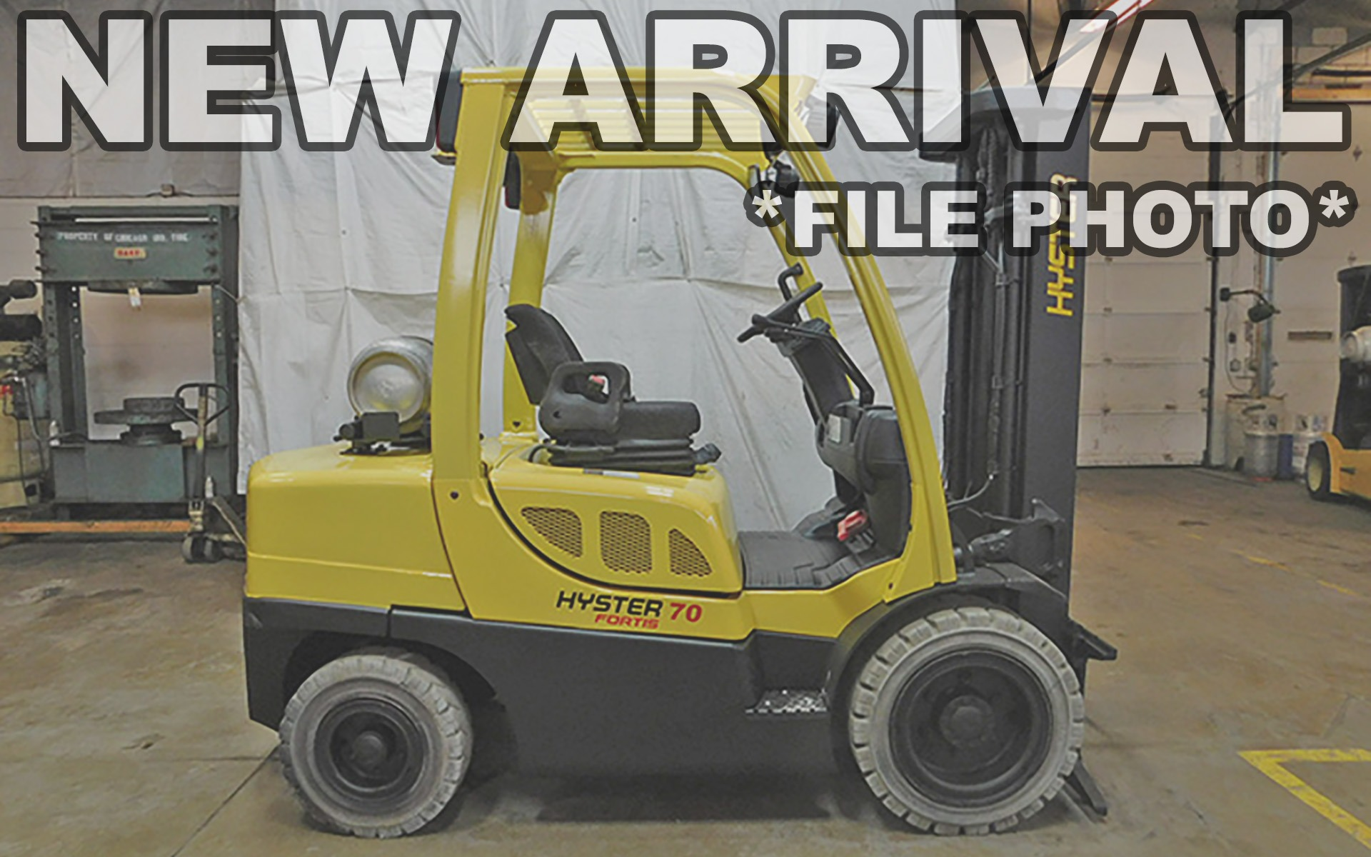 Used 2013 HYSTER H70FT  | Cary, IL
