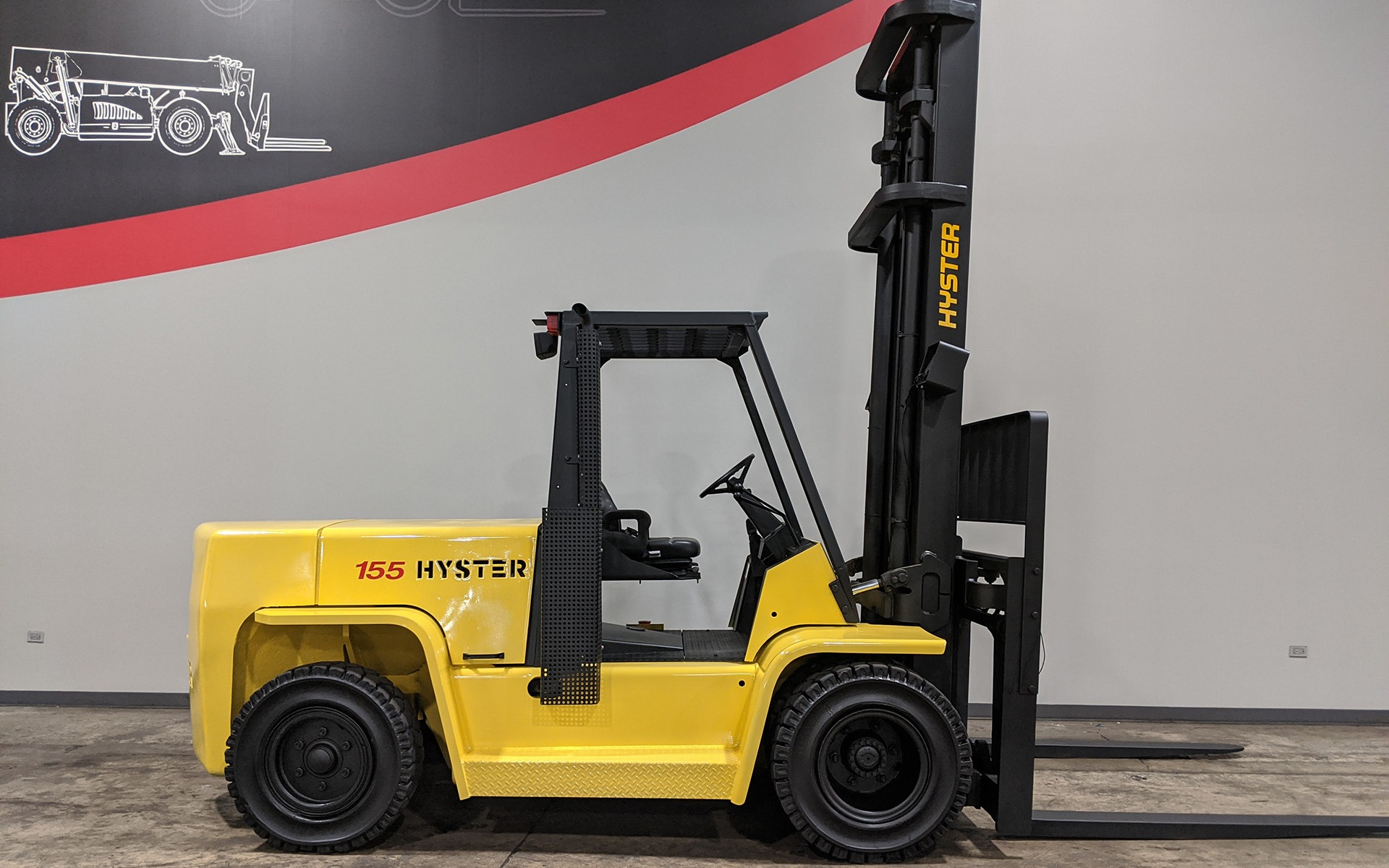 Used 2005 HYSTER H155XL2  | Cary, IL