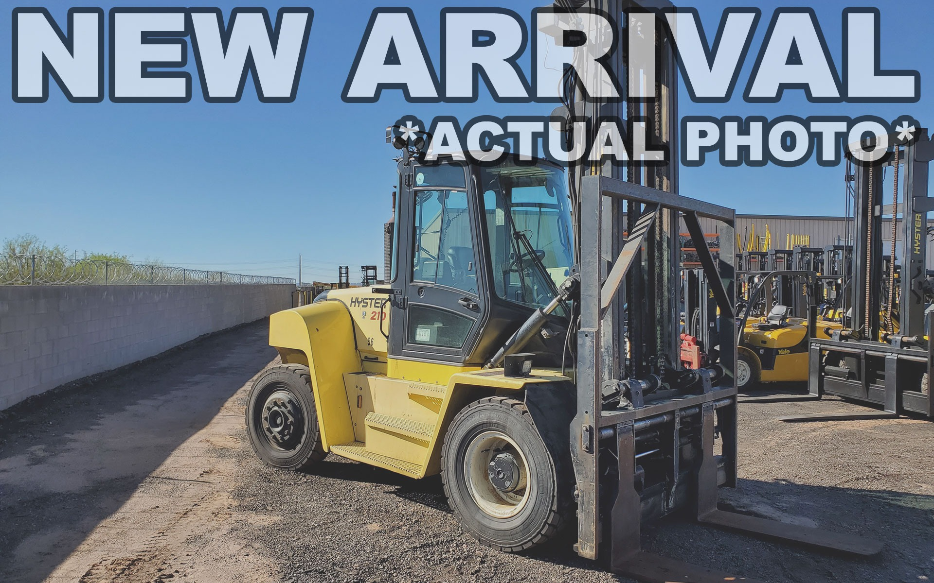 Used 2015 HYSTER H210HD  | Cary, IL