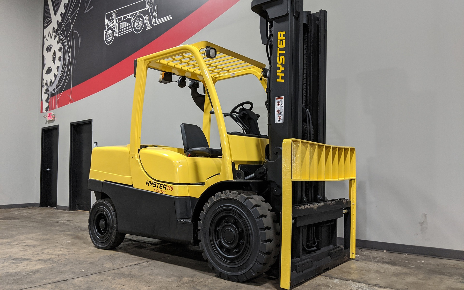 Used 2008 HYSTER H110FT  | Cary, IL