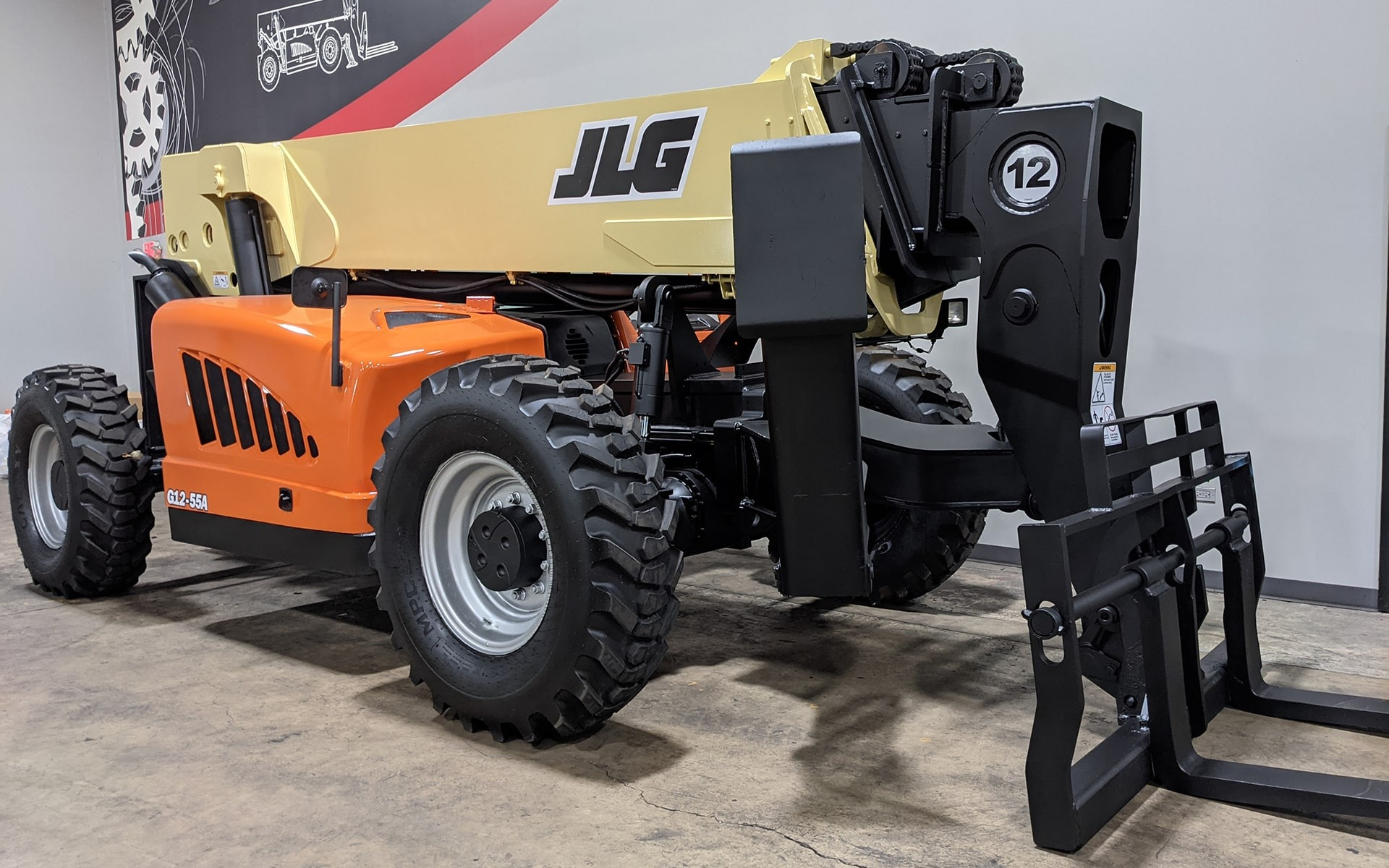 Used 2010 JLG G12-55A  | Cary, IL