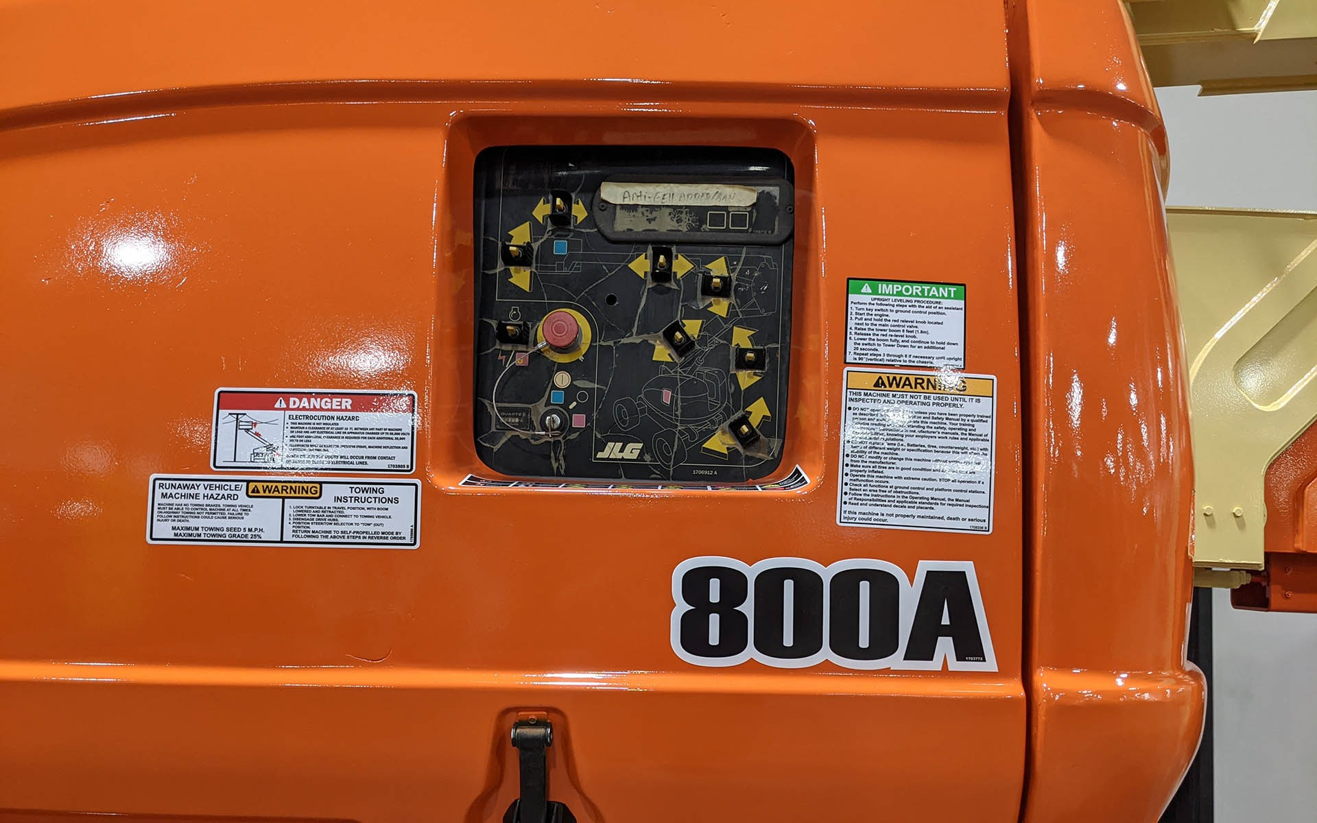 Used 2008 JLG 800A    Cary, IL