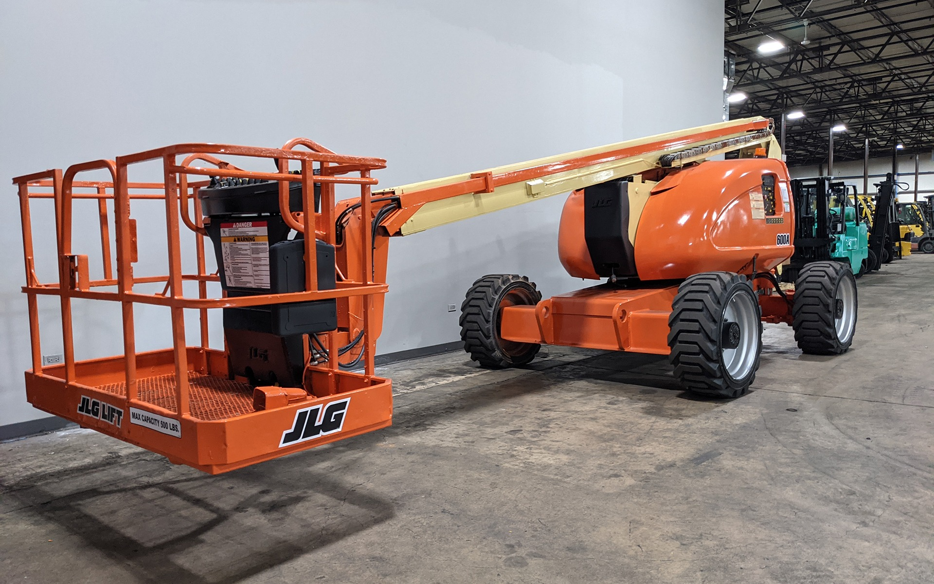 Used 2007 JLG 600A    Cary, IL