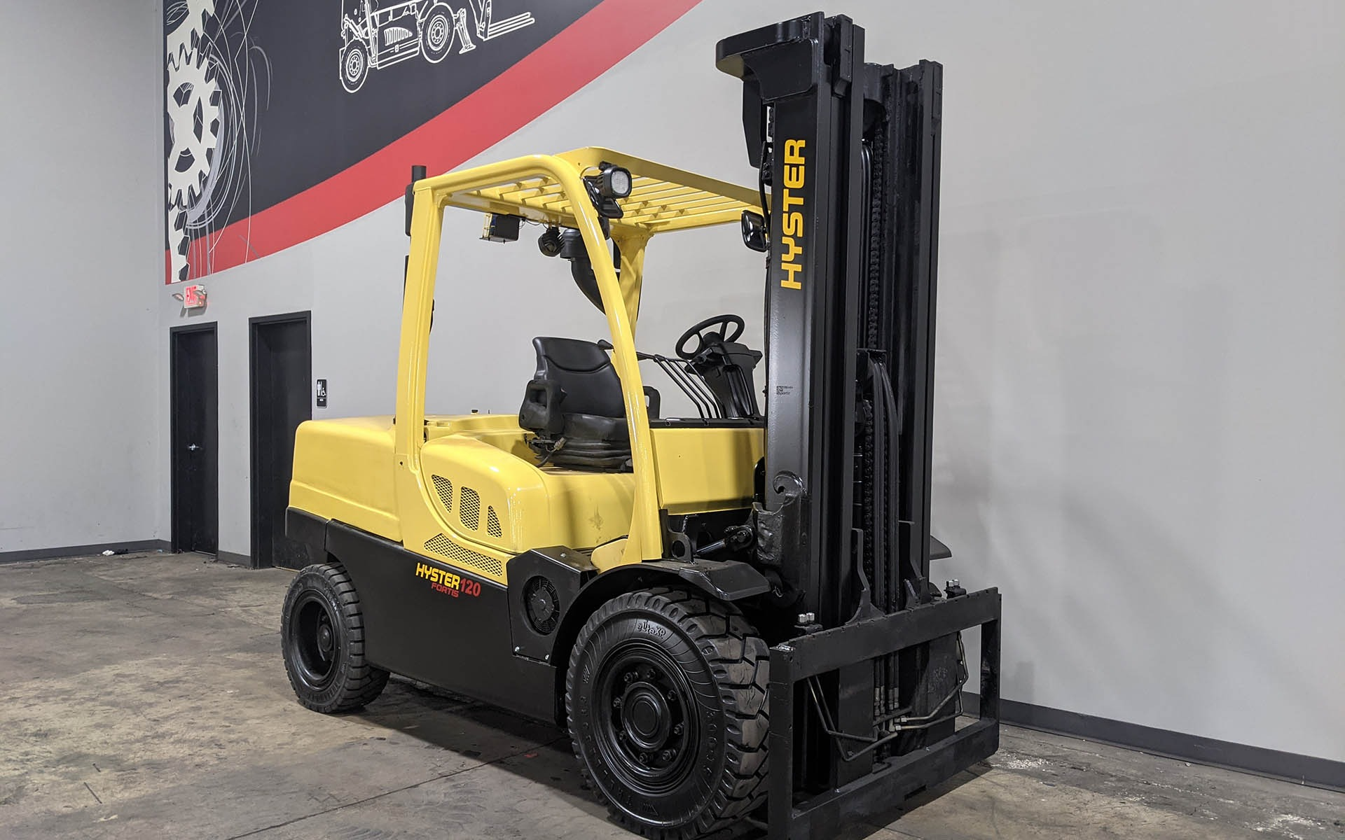 Used 2016 HYSTER H120FT  | Cary, IL