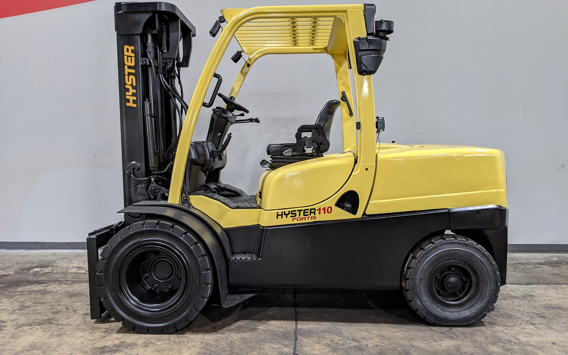 Used 2017 HYSTER H110FT  | Cary, IL