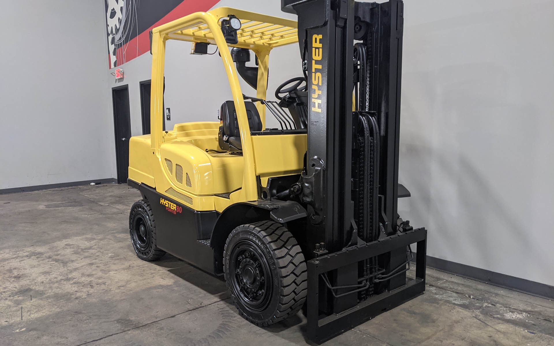 Used 2017 HYSTER H80FT  | Cary, IL