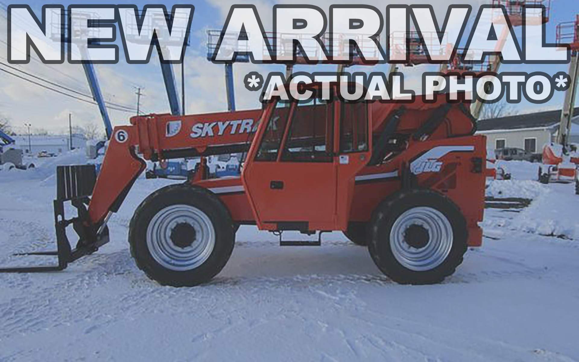 Used 2012 SKYTRAK 6042    Cary, IL