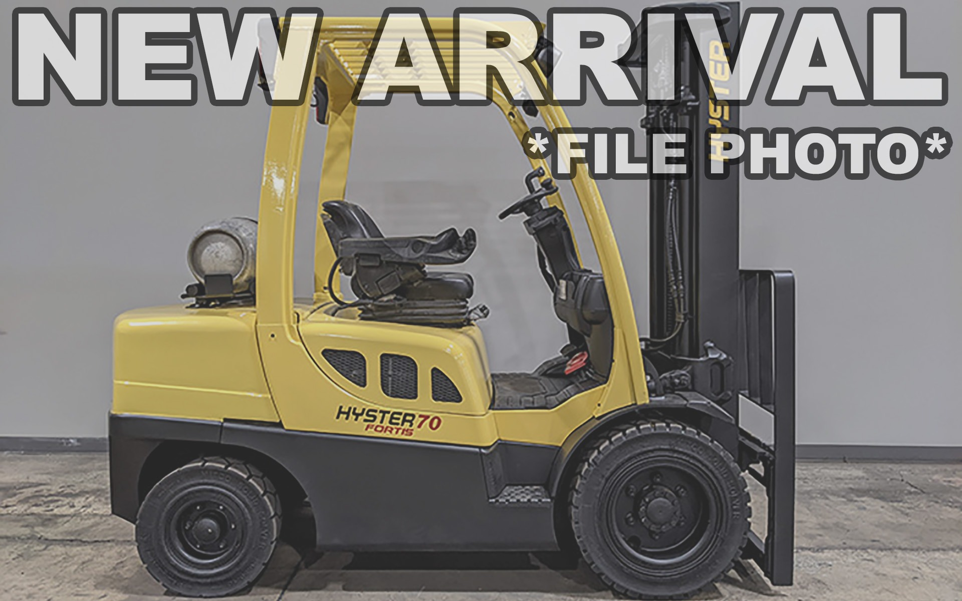 Used 2011 HYSTER H70FT  | Cary, IL