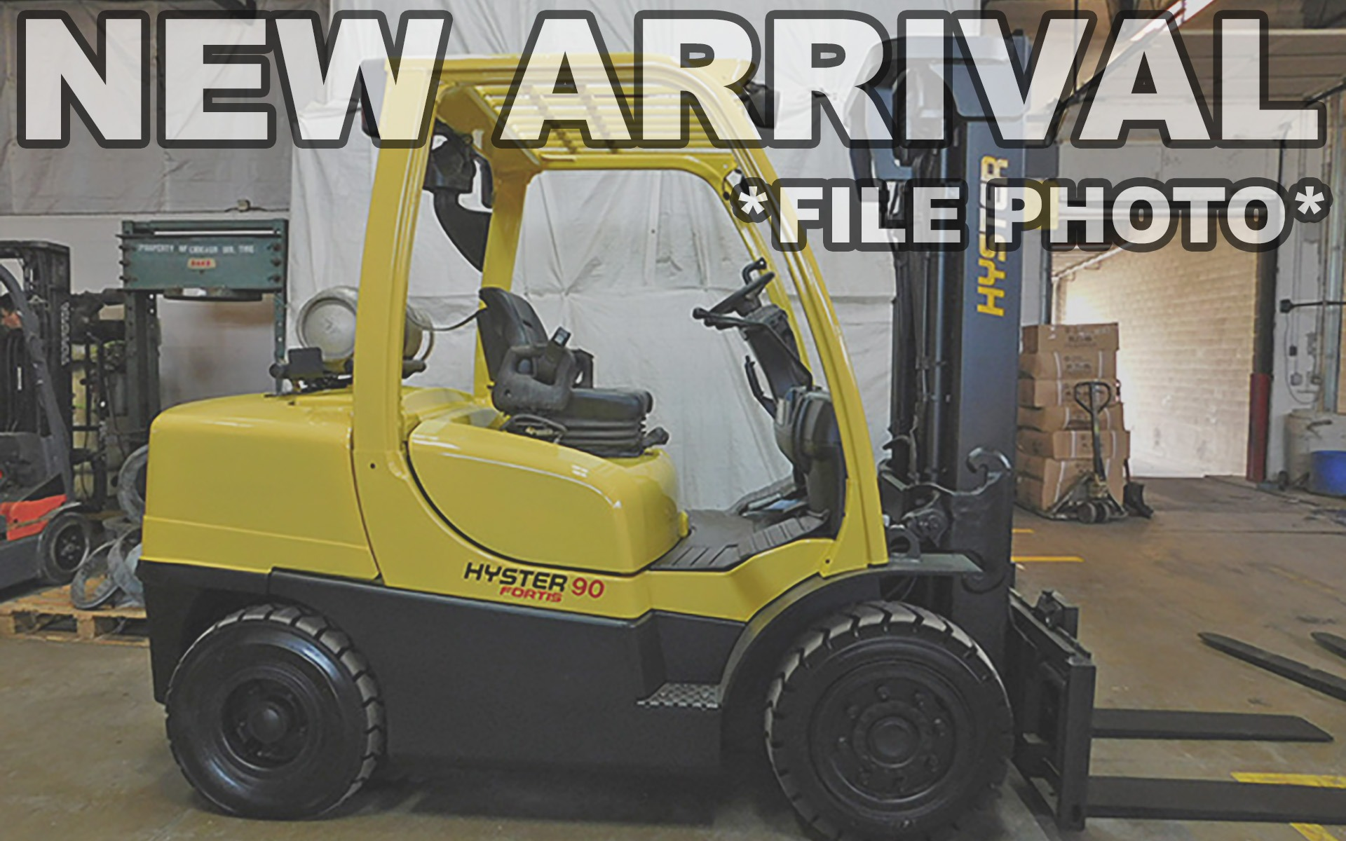 Used 2014 HYSTER H90FT    Cary, IL