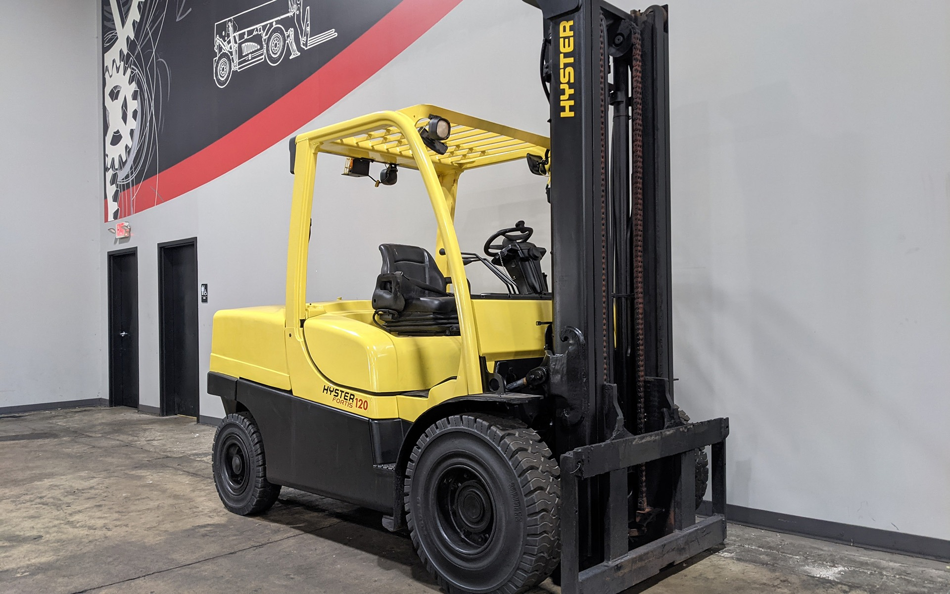 Used 2018 HYSTER H120FT    Cary, IL