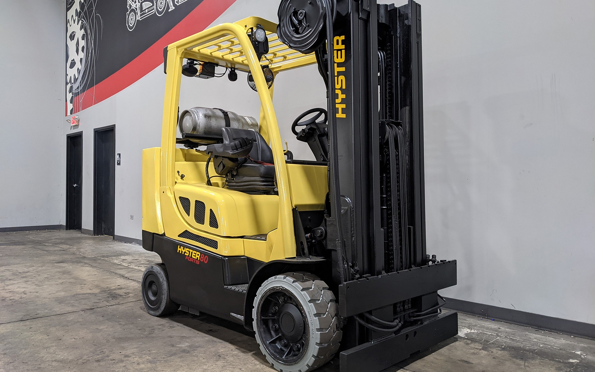 Used 2017 HYSTER S80FTBCS    Cary, IL