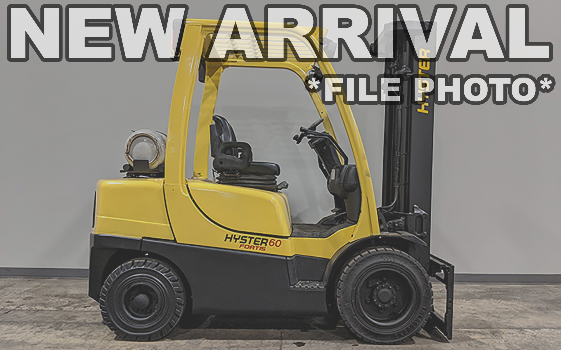 Used 2017 HYSTER H60FT    Cary, IL