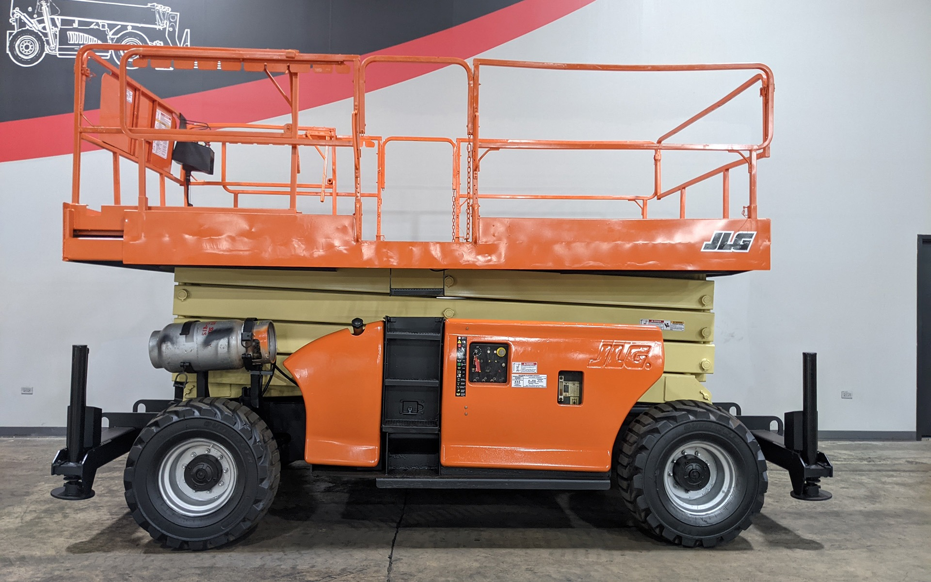 Used 2005 JLG 4394RT  | Cary, IL