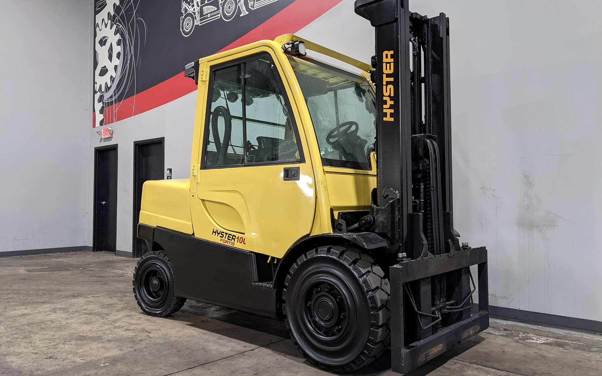 Used 2015 HYSTER H100FT  | Cary, IL