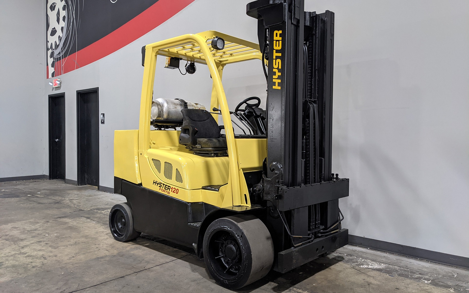 Used 2009 HYSTER S120FT  | Cary, IL